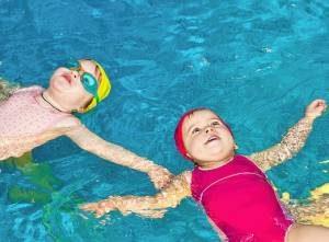 Baby swim lessons San Diego